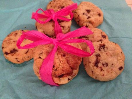 Cookies chocolat gingembre