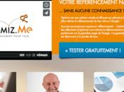 Développement site Optimiz.me nouvelle solution pour TPE/PME