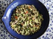 Taboulé lentilles vertes quinoa