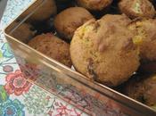 Muffins dattes l'orange