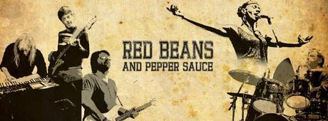 red beans and pepper sauce