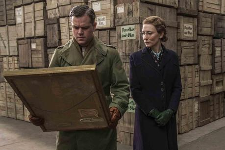 - Monuments man de George Clooney-