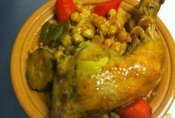 Recette Couscous Poulet Et Legumes Couscous Marocain Saute A Voir