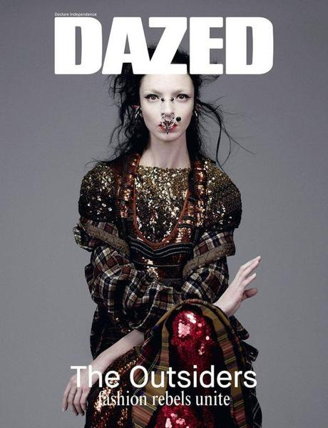 Mariacarla Boscono by Willy Vanderperre for Dazed 2014