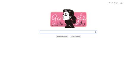 Un Doodle pour célébrer les 85 ans de la naissance d'Audrey Hepburn