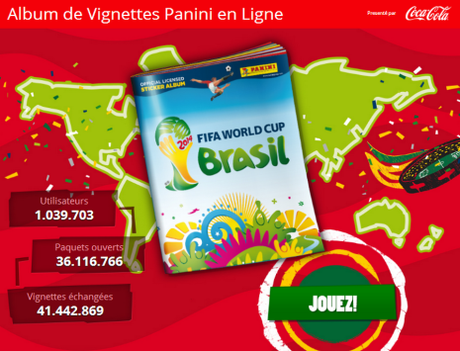 Album virtuel Panini Coupe du Monde 2014