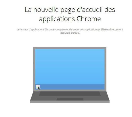 6-page d'accueil application chrome