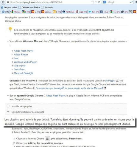 pour google bloquer cest effacer