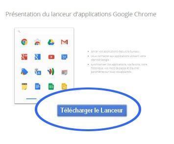 5-telecharger lanceur application chrome
