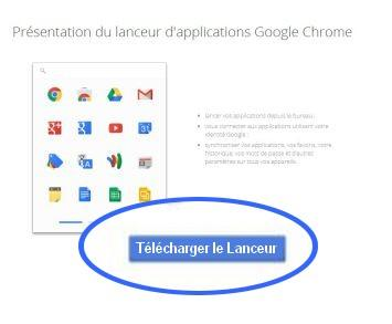 5-telecharger lanceur application chrome