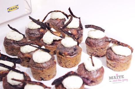 cupcake zero dechet poulet carotte violette chantilly fane chips carotte