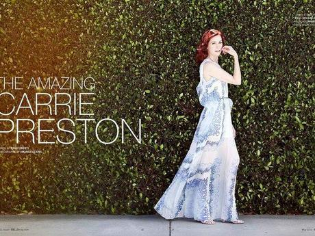 Carrie Preston : Bello Magazine