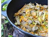 Boeuf légumes légèrement croquants