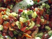 Salade presque mexicaine