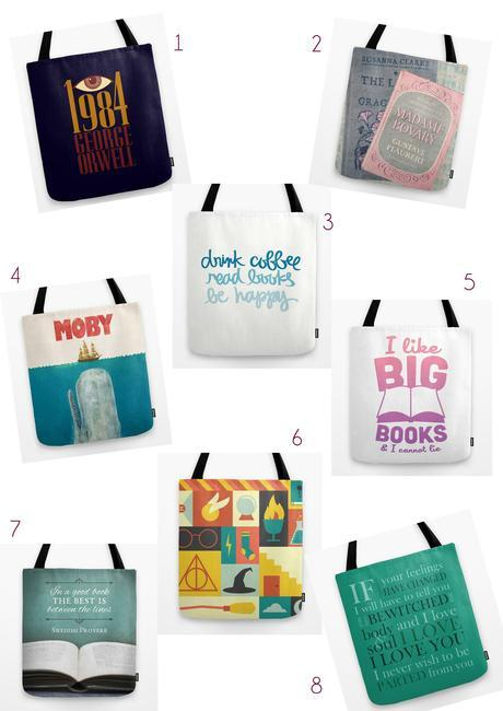 Tote bags tote bags society 6 sacs livres books