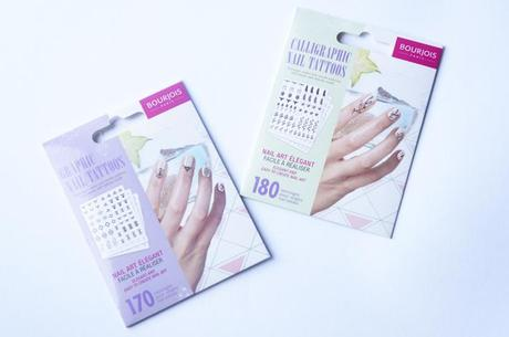 Nail Tattoos Bourjois test avis tatouages ongles