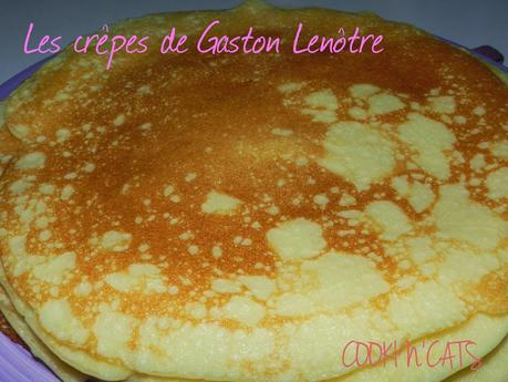 LES CREPES DE GASTON LENOTRE