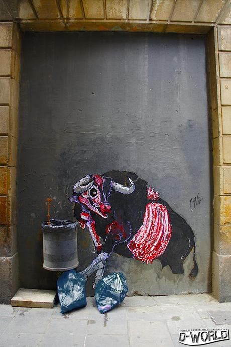 street art barcelona quartier du born