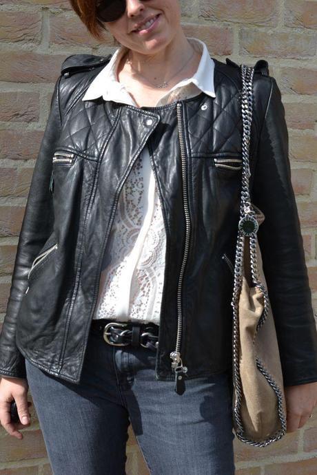 Isabel Marant leather belt and jacket 5