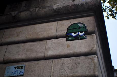 Space Invader Casqué