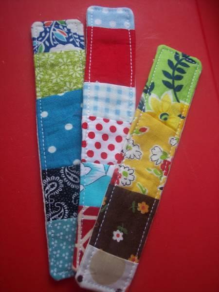 marque page patchwork 10 projets de couture faciles pour les enfants