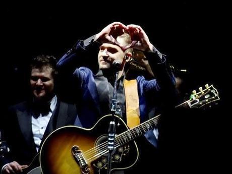 J'ai vu Justin Timberlake en concert