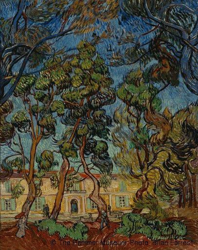 Vincent van Gogh,Arbres dans le jardin de l'hôpital Saint-Paul, Saint-Rémy-de-Provence,© The Hammer Museum. Photo: Brian Forrest