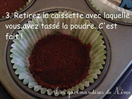 Faire les fonds de mini cheesecakes