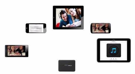 PNY Wireless Media Reader, lecteur multimédia pour terminaux mobiles