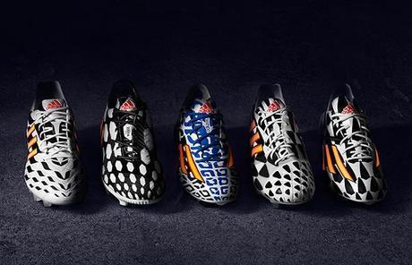 Adidas lance ses chaussures pour la coupe du monde: le battle pack