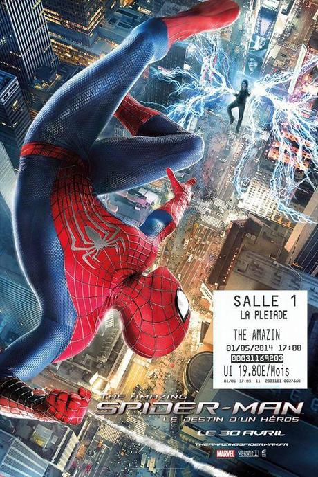 Critique de The Amazing Spider-Man 2 le destin d'un Héros