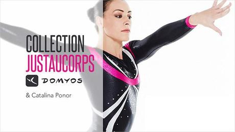 La gymnaste Catalina Ponor lance une collection de justaucorps avec Domyos
