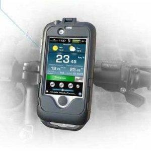 Référence fabricant: Transformez votre iPhone en compteur de vélo !Support pour iPhone résistant aux éclaboussuresInstallation possible sur un guidon de vélo ou de motoStructure interne antichocs en caoutchouc pour une protection contre les vibration...