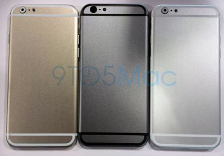 iPhone 6 or gris sideral argent arriere