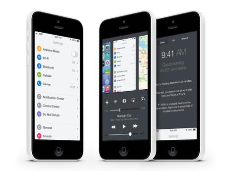 iOS 8 Dribbble Mac Aficionados