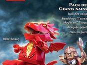 Trois nouveaux packs pour LEGO Hobbit