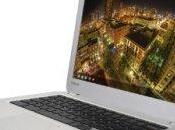 "plan jour Chromebook Toshiba 13,3"" tactile (Intel Celeron, RAM, Disque Chrome"