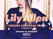Evénement Lily Allen tournée, billets enfin vente