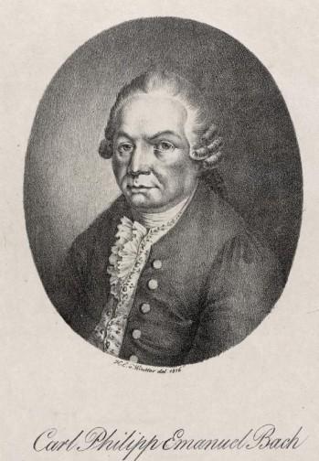 Heinrich von Winter Carl Philipp Emanuel Bach