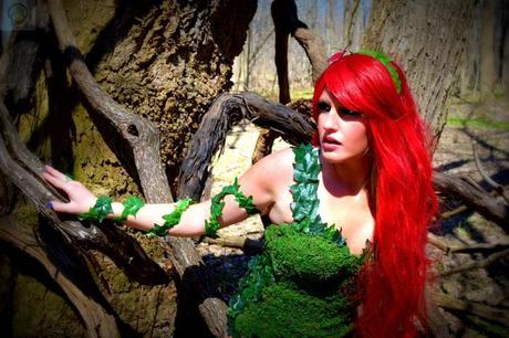 poison ivy cosplay 03 Cosplay : Poison Ivy  Poison Ivy cosplay