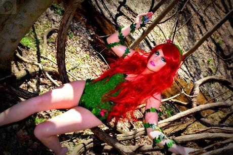 poison ivy cosplay 01 Cosplay : Poison Ivy  Poison Ivy cosplay