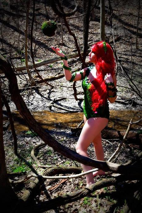 poison ivy cosplay 04 Cosplay : Poison Ivy  Poison Ivy cosplay