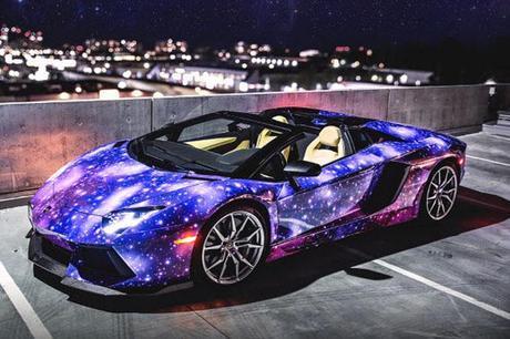 Lamborghini Aventador Galaxy