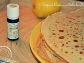 Crêpes l'huile essentielle citron version Thermomix)