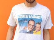 t-shirts CHIRAC marque FAUX