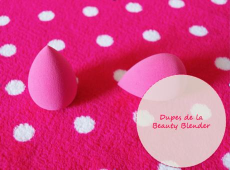 Dupes de la beauty blender