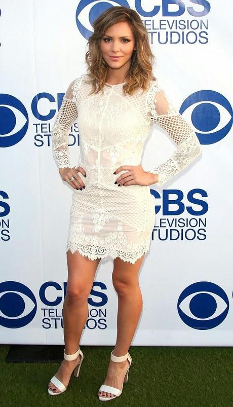 Katharine McPhee au CBS Summer Soiree à West Hollywood - 19.05.2014