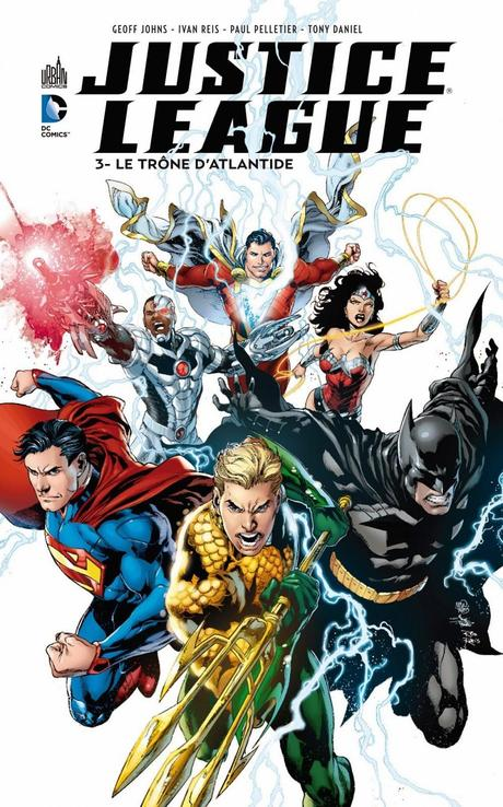 JUSTICE LEAGUE TOME 3 : LE TRONE D'ATLANTIS