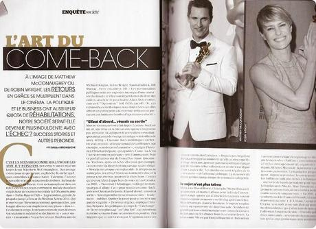 Come backs & Madame Figaro