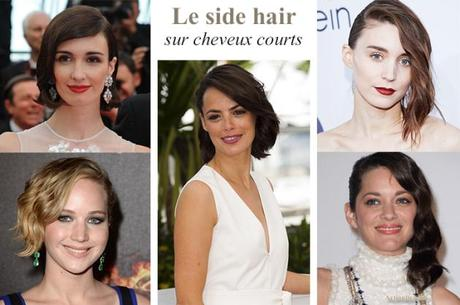 side hair cheveux courts cannes